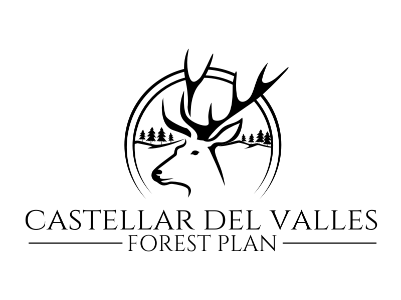 Castellar del VallesForest Plan logo design by rgb1