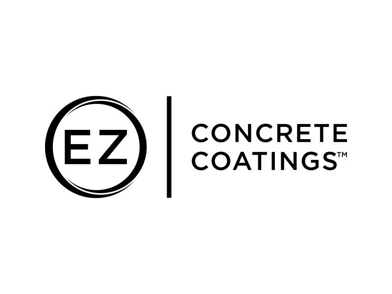 EZ Concrete Coatings logo design by christabel