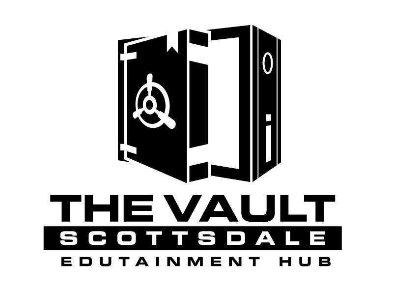 The Vault Scottsdale - Edutainment Hub logo design by jaize