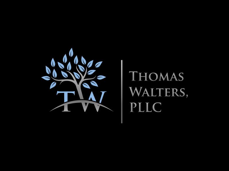 Thomas-Walters, PLLC logo design by zegeningen