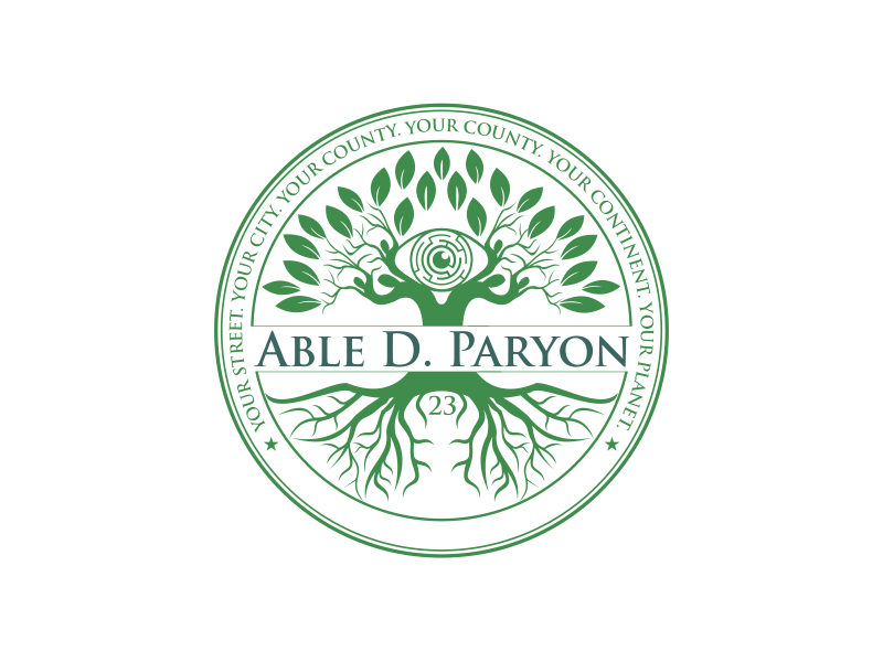 Able D. Paryon logo design by up2date