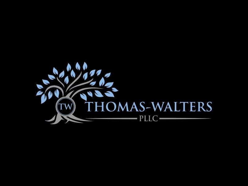 Thomas-Walters, PLLC logo design by luckyprasetyo