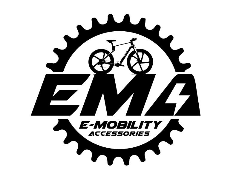 EMA (E-Mobility Accessories) logo design by ElonStark