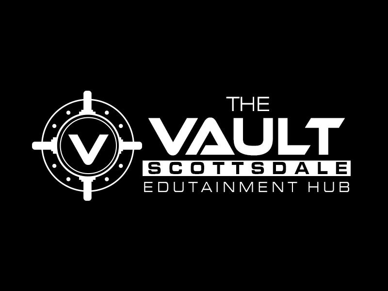 The Vault Scottsdale - Edutainment Hub logo design by kunejo