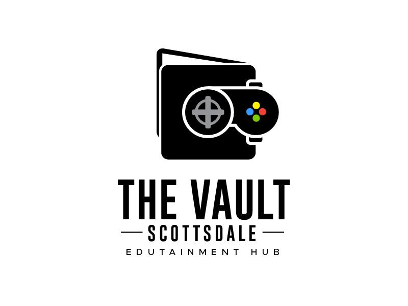 The Vault Scottsdale - Edutainment Hub logo design by usef44