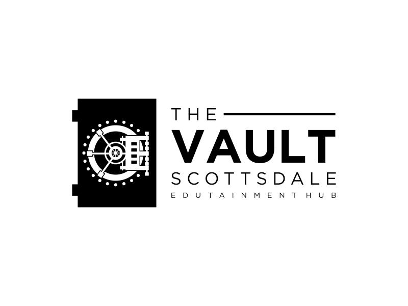 The Vault Scottsdale - Edutainment Hub logo design by GassPoll