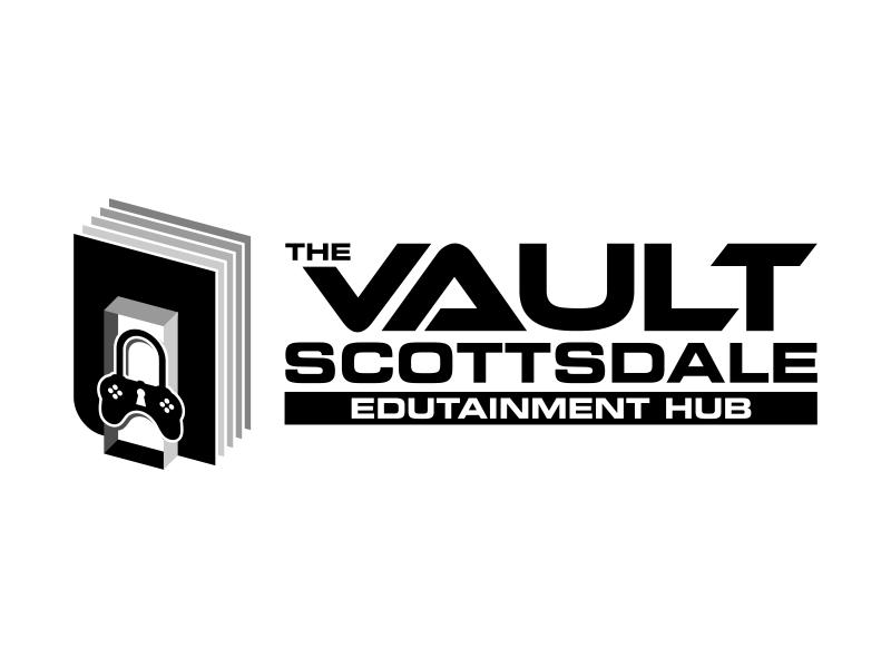 The Vault Scottsdale - Edutainment Hub logo design by ekitessar