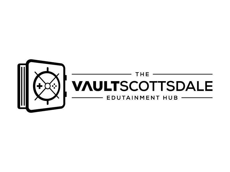 The Vault Scottsdale - Edutainment Hub logo design by pencilhand