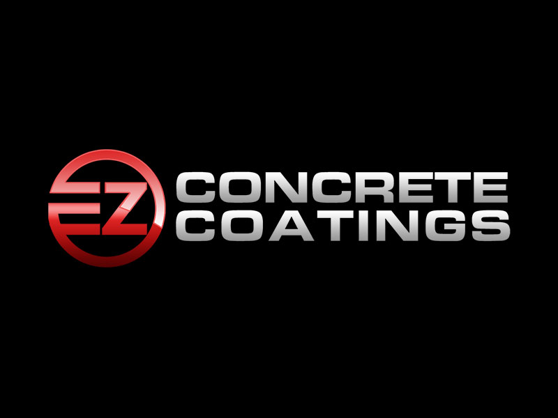 EZ Concrete Coatings logo design by kunejo