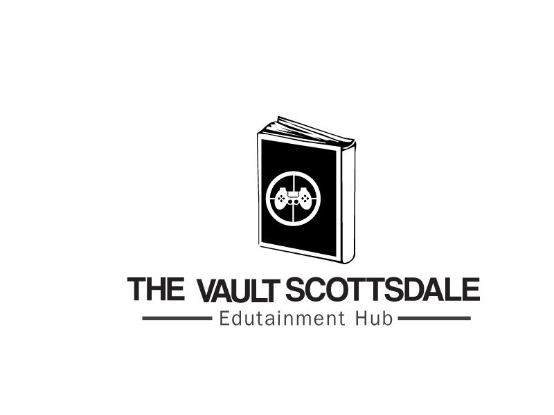 The Vault Scottsdale - Edutainment Hub logo design by xien