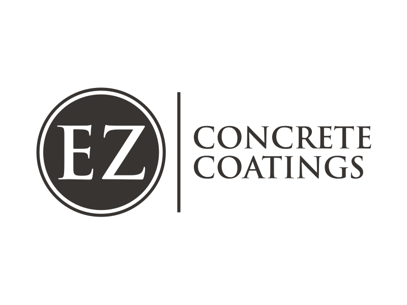 EZ Concrete Coatings logo design by Arto moro