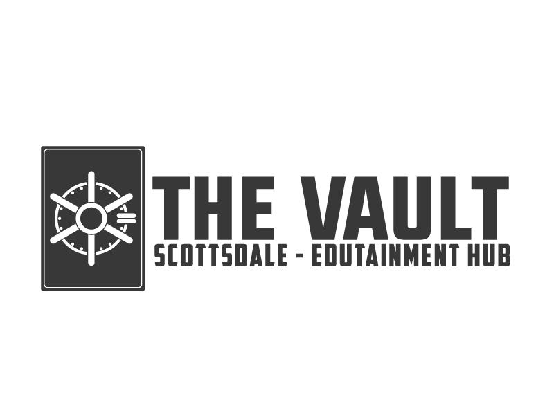 The Vault Scottsdale - Edutainment Hub logo design by ElonStark