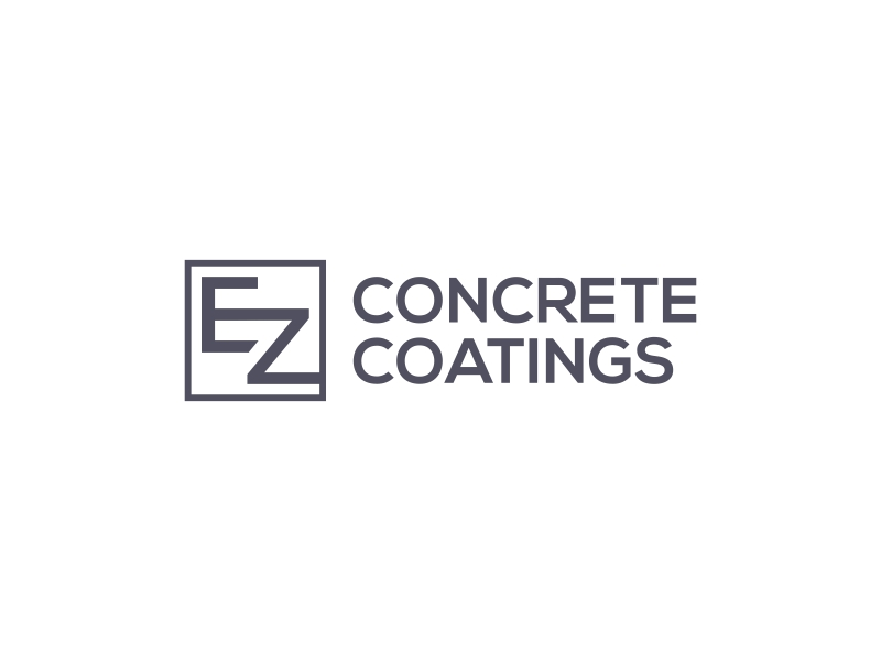 EZ Concrete Coatings logo design by asani