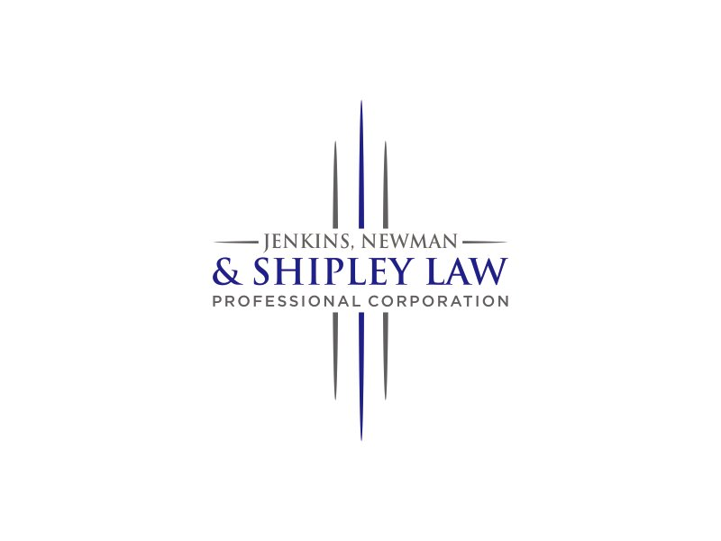 Jenkins, Newman & Shipley Law Professional Corporation Logo Design