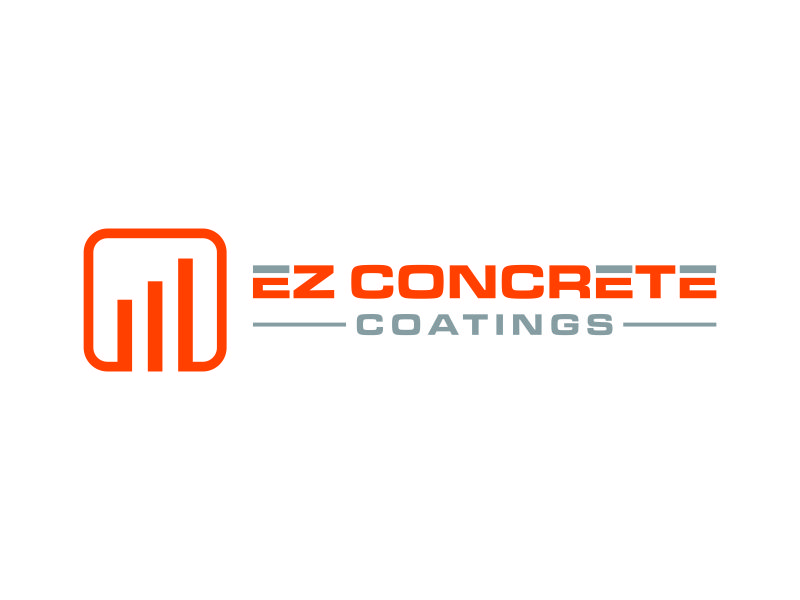 EZ Concrete Coatings logo design by kurnia