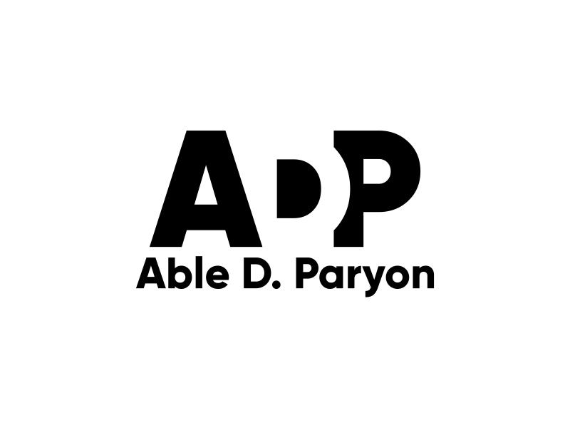 Able D. Paryon logo design by ekitessar