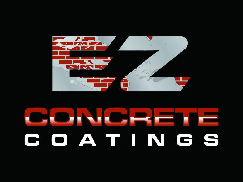 EZ Concrete Coatings logo design by savana