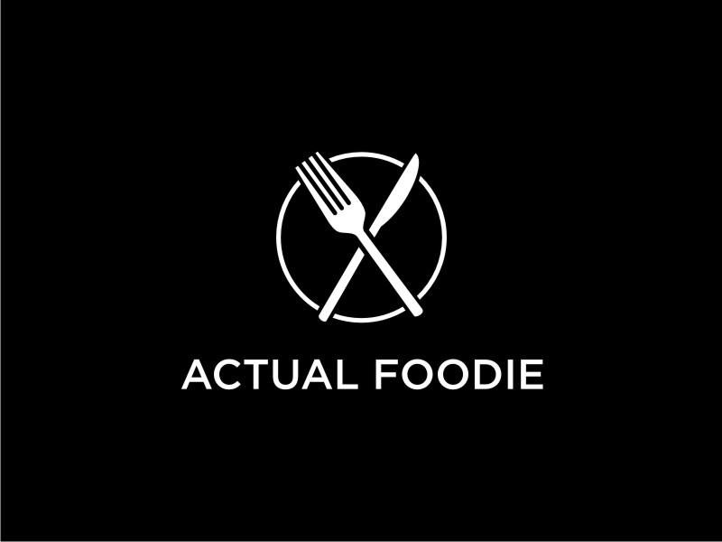 Actual Foodie logo design by tejo