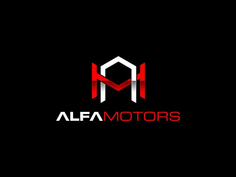 Alfa Motors Logo Design