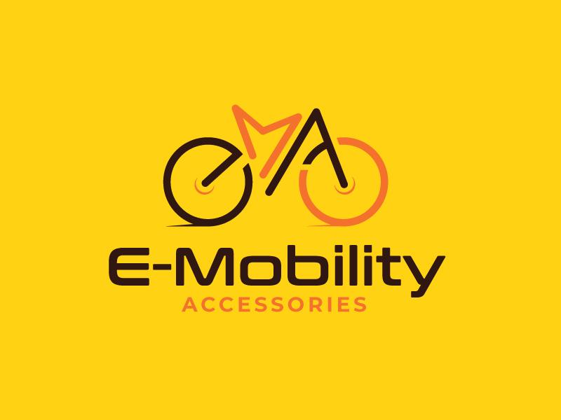 EMA (E-Mobility Accessories) logo design by sanworks