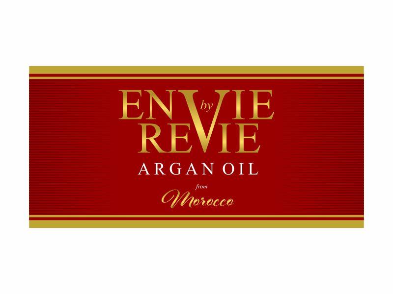 Envie by Revie Argan Oil From Morocco logo design by DiDdzin