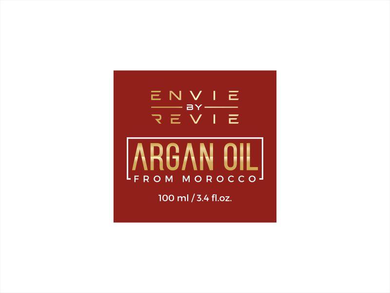 Envie by Revie Argan Oil From Morocco logo design by Shabbir