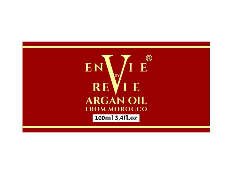 Envie by Revie Argan Oil From Morocco logo design by cintoko
