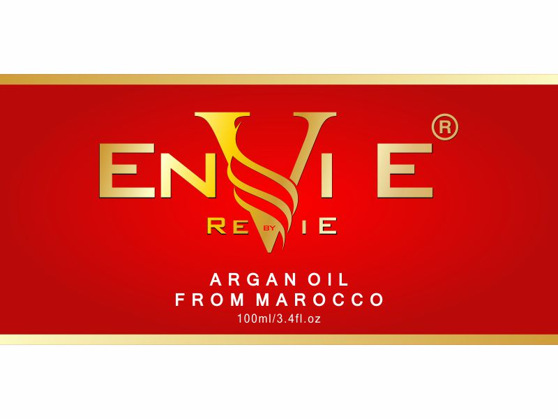 Envie by Revie Argan Oil From Morocco logo design by wibowo
