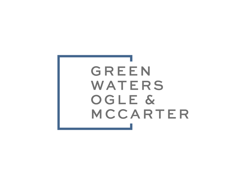 Green, Waters Ogle & McCarter logo design by akilis13