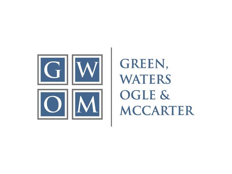 Green, Waters Ogle & McCarter logo design by maserik
