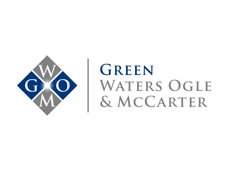 Green, Waters Ogle & McCarter logo design by excelentlogo