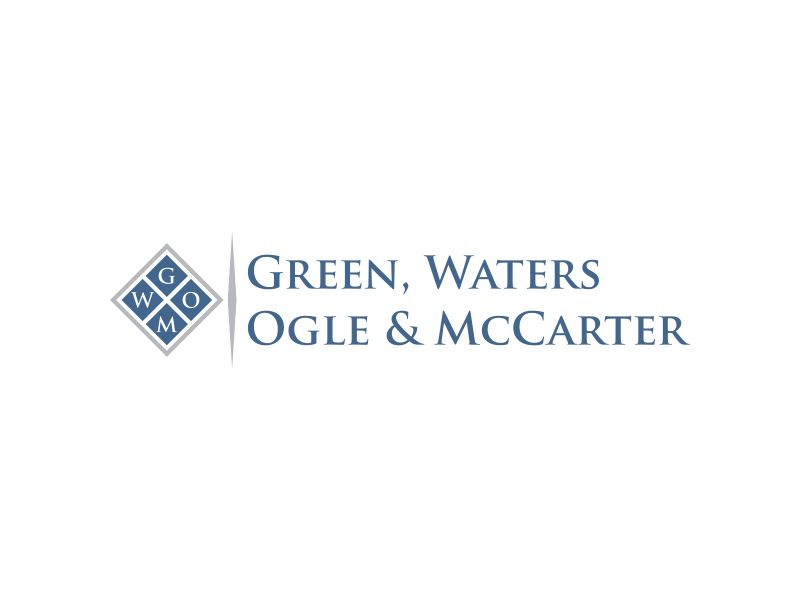 Green, Waters Ogle & McCarter logo design by fastI okay