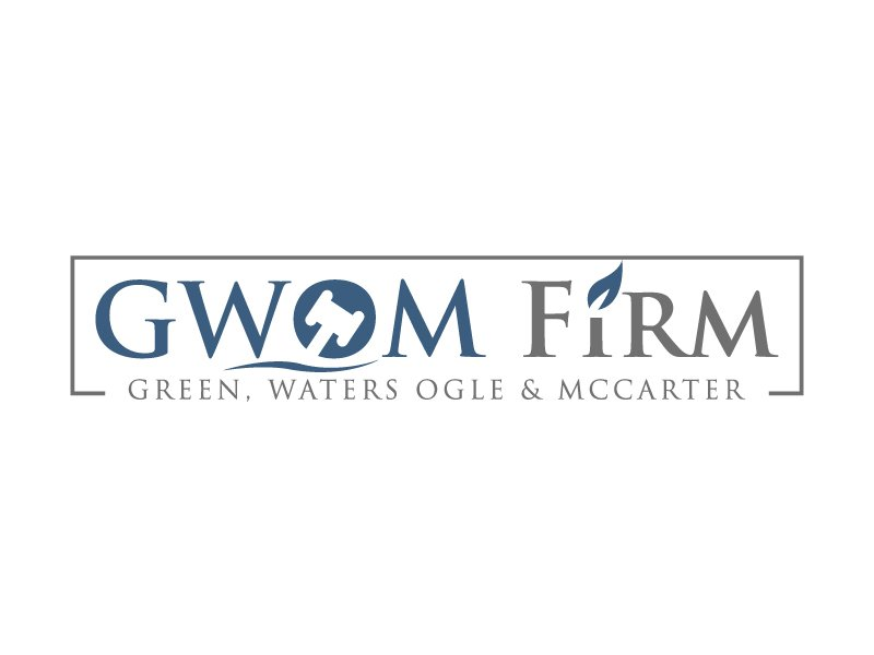 Green, Waters Ogle & McCarter logo design by MUSANG