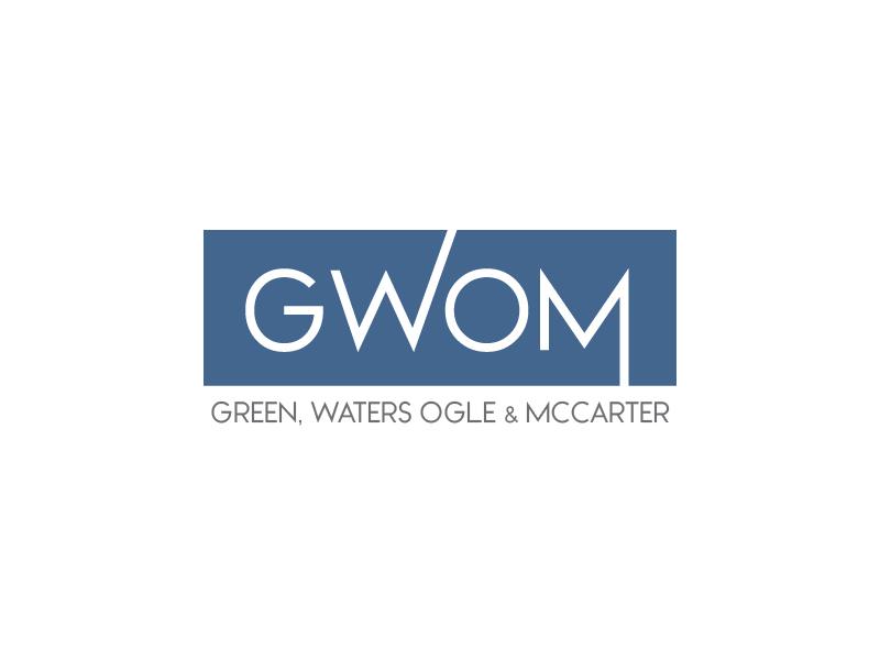 Green, Waters Ogle & McCarter logo design by usef44