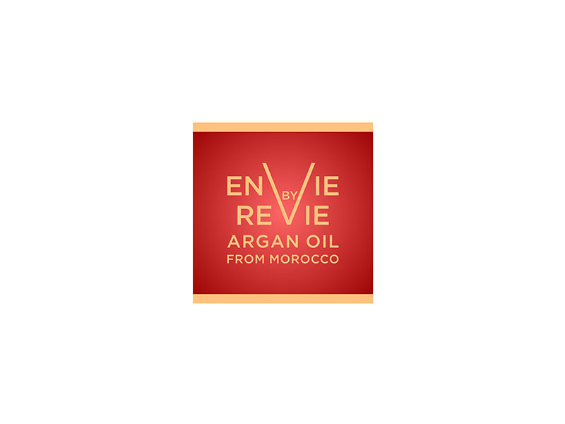 Envie by Revie Argan Oil From Morocco logo design by bomie