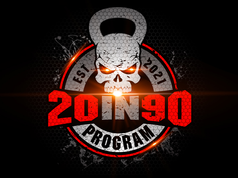 20in90 Program logo design by DreamLogoDesign