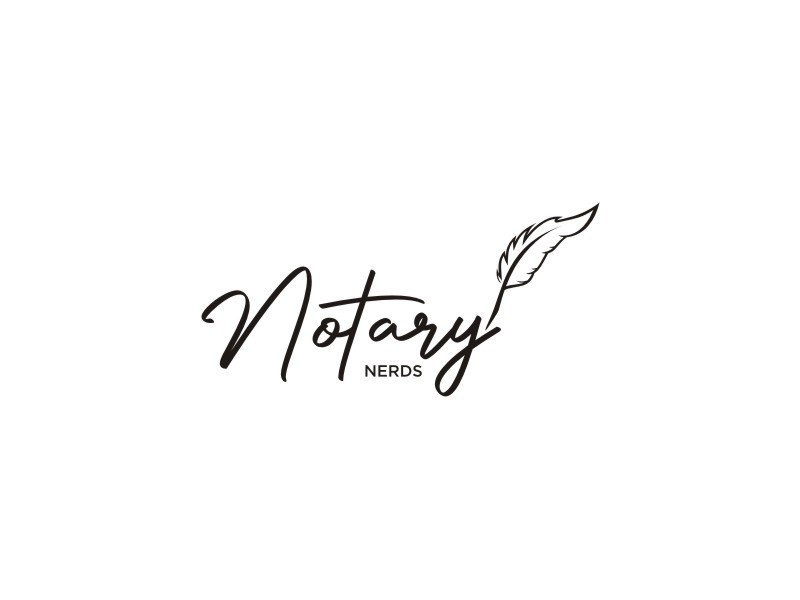 Notary Nerds logo design by restuti