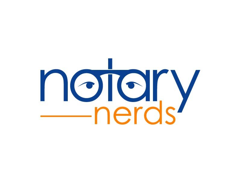 Notary Nerds logo design by axel182
