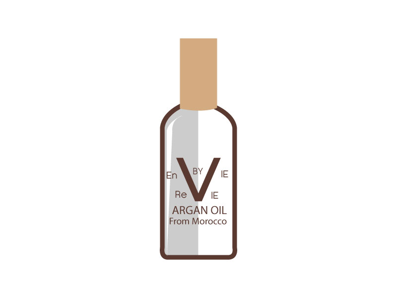 Envie by Revie Argan Oil From Morocco logo design by LogoQueen
