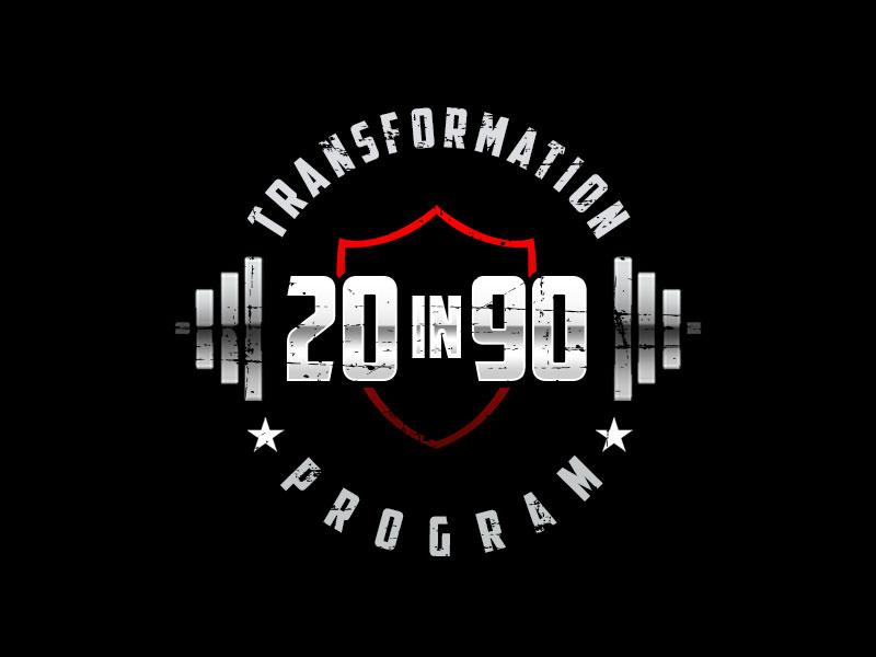20in90 Program logo design by kunejo