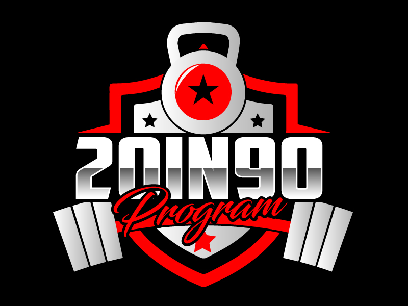 20in90 Program logo design by ElonStark