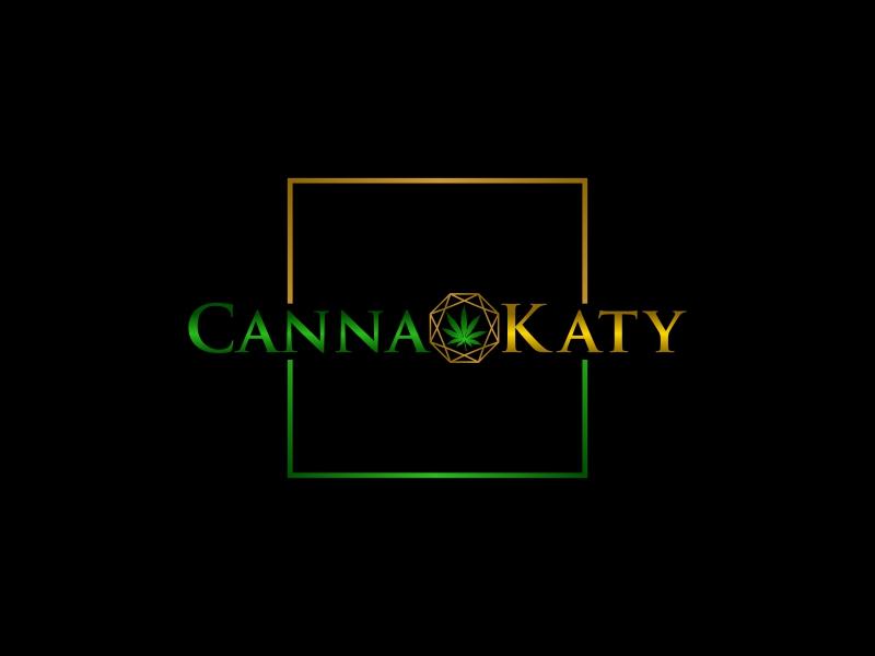 CannaKaty Logo Design