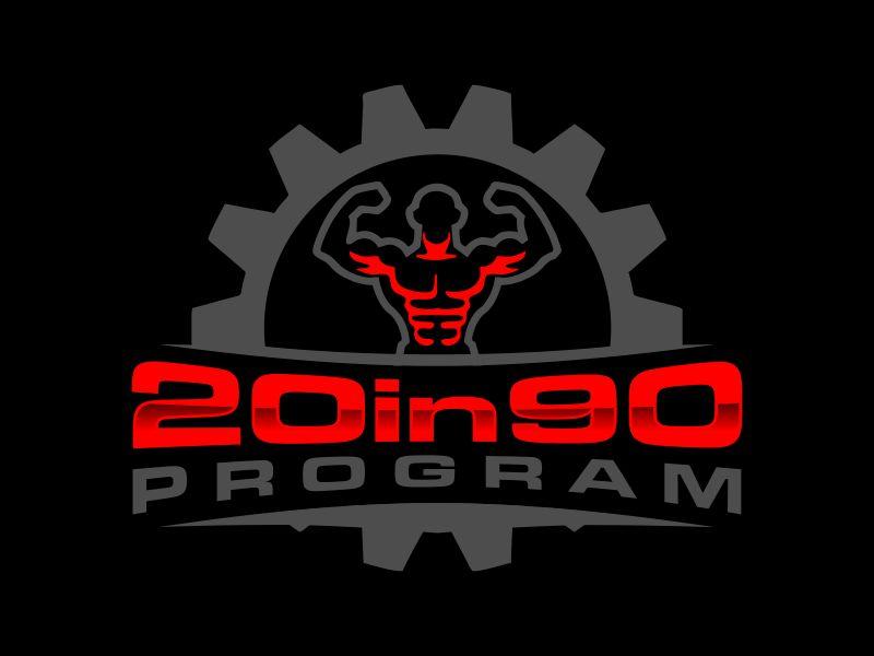 20in90 Program logo design by Gwerth