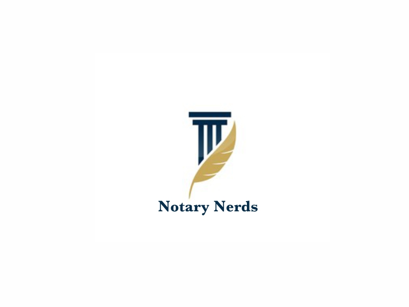Notary Nerds logo design by dasam