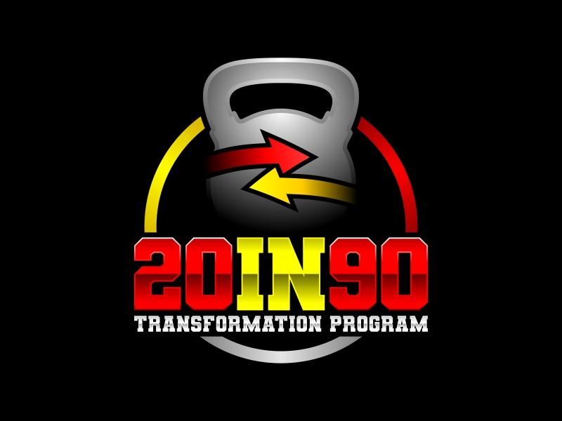 20in90 Program logo design by ekitessar