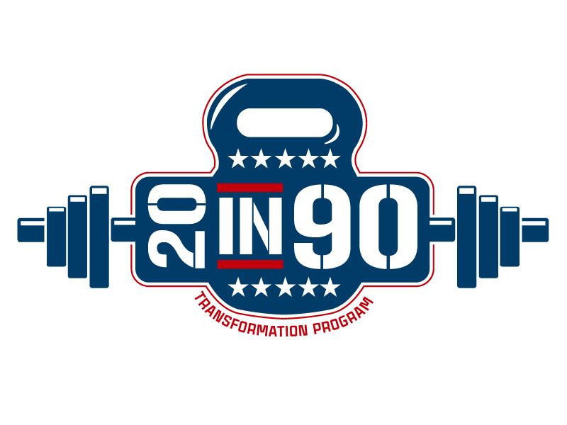 20in90 Program logo design by gearfx