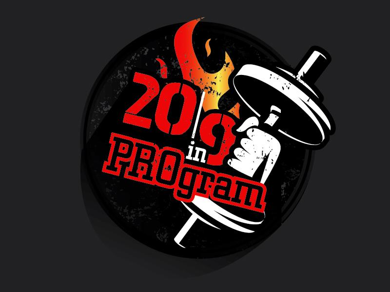 20in90 Program logo design by il-in