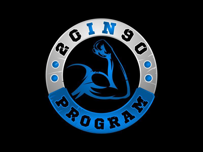 20in90 Program logo design by mutafailan