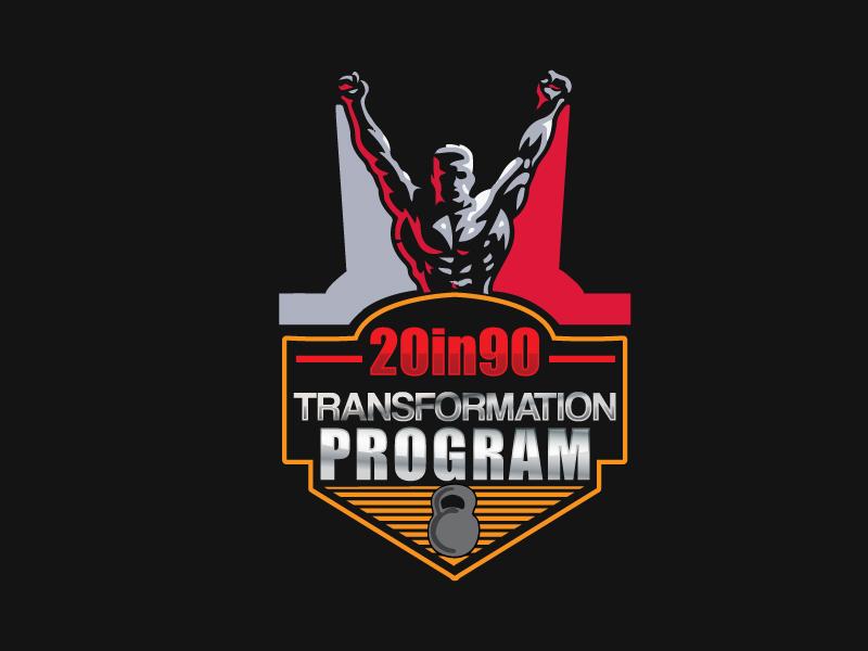 20in90 Program logo design by xien