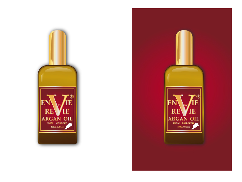 Envie by Revie Argan Oil From Morocco logo design by drifelm